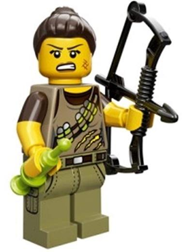 Lego Lego Minifigür - Seri 12 - 71007 - Dino Tracker Renkli